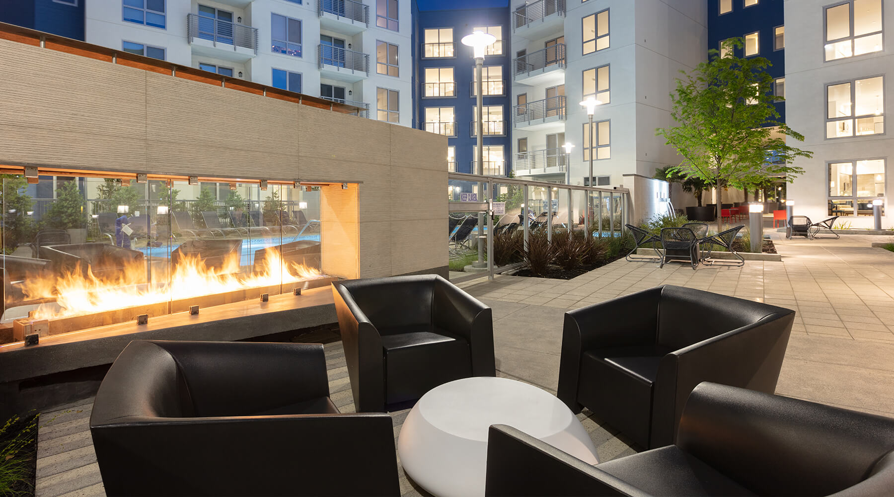The Triton - Outdoor Fireplace