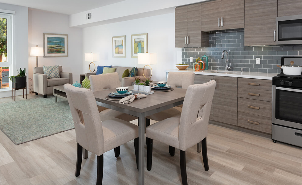 Triton Foster City / Impressive and spacious: Floor plans at The Triton